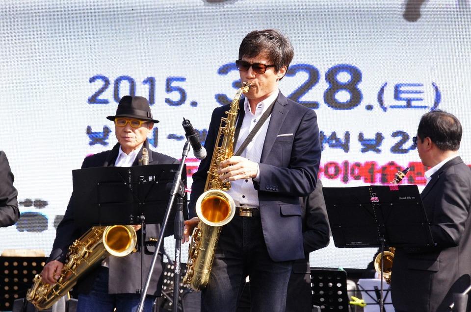 Jouer les arpèges aux saxophones