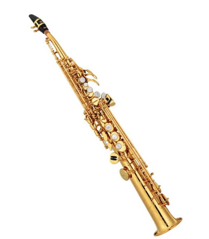Familles de saxophones - Saxophone droit